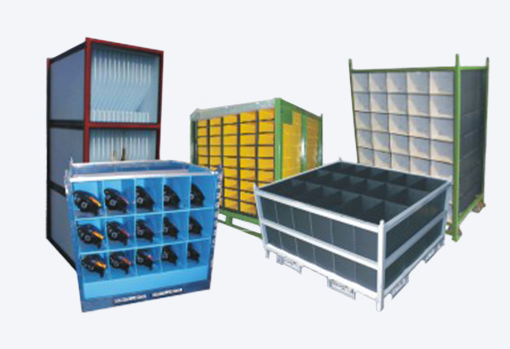 Steel Racks Carts Divider Insert Tube Dunnage Fabric Bag Dunnage