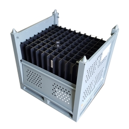 Steel Cage with HDPE Divider