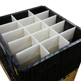 HDPE Partition in Bulk Container