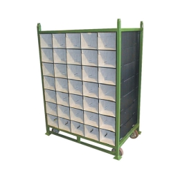 Steel Rack with Tube Dunnage