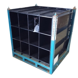 HDPE Divider in Steel Frame