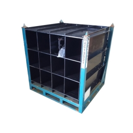 Steel Frame with HDPE Divider