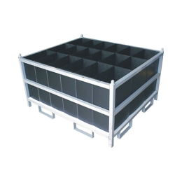 Rack with Top Load Divider