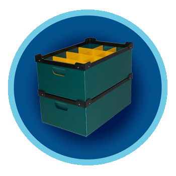 Boxes, Cartons and Totes - Returnable Packaging | Reusable